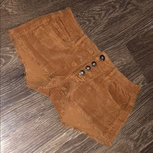 Roxy brown shorts